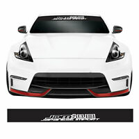 JDM Japanese Imports Drift Track Car Windscreen Sunstrip Banner Vinyl Sticker