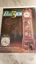 NEW Sealed Challenging PUZZ 3D Grandfather Clock Puzzle 777 Pieces 1997 Milton