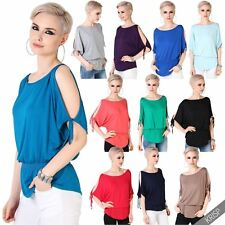 Boat Neck Viscose Tops & Shirts Plus Size for Women