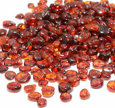 Genuine Baltic Amber Loose Beads Holed Nuggets 5 10 20 30 g Cognac Beads