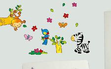 cuarto del bebé Adhesivos de pared Animales la selva dibujos animados MONO