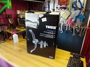Thule Passage 2 Bike Car Trunk Rack 910XT -Never used, customer return -open box