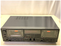 SONY TC-WR950 double cassette deck stereo audio system music player vintage