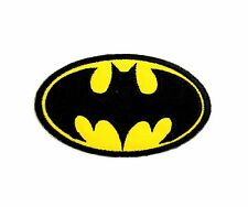 BATMAN Embroidered Iron Patch Sew on Patch 5x8.5cm. Craft DIY