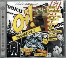 Oi! THE RARITIES VOL 5 - VARIOUS ARTISTS (brand new still sealed cd) AHOY CD 62