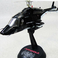 AOSHIMA AIRWOLF 1/48 Metallic Black Domestic Limited METAL DIECAST MODEL NEW