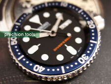 Navy Bezel Replacement Insert For 7S26 Scuba skx007 009 Heritage 79090 Blue Sub