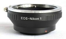 Canon EOS EF EF-S to Nikon 1 Lens Mount Adapter J1 J2 J3 V1 V2 EOS-N1