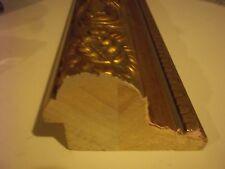 14 feet Picture Frame Moulding Huge Gold Ornate 4 @ 3.5 ft each