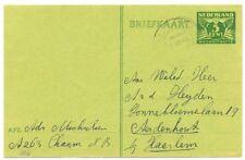 NEDERLAND   BK  1945-7-6   GZD 277 c  NOODUITGIFTE  GEBR  VW PR EX