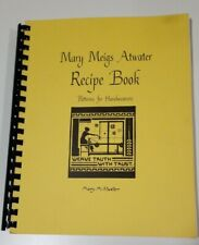 Mary Meigs Atwater Recipe Book: Patterns for Handweavers - Plastic Comb 1982