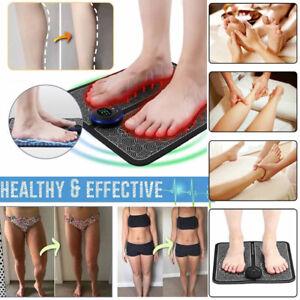 Electric Foot Massager, EMS Feet Massage Machine, Circulation Booster Feet Leg