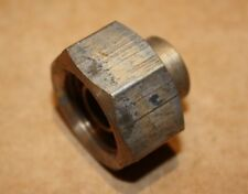 Yorkshire Straight union adaptor. 12mm copper x 1/2 BSP  thread 68GHD 56538