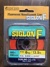 Siglon F Orange Floating Mono For Centerpin 5 Sizes  $2.50 US Combined Ship