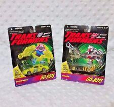 TransFormers SoundWave Mirage Go Bots Generation 2 1994 Hasbro Movie Lot G1 MOSC