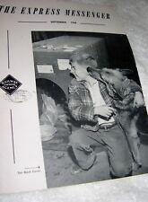 Railway Express Messenger Magazine September, 1958