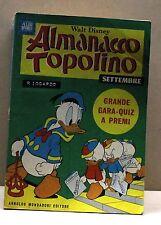ALMANACCO TOPOLINO - SETTEMBRE 1968 [fumetto, albi d'oro, n.9, walt disney]