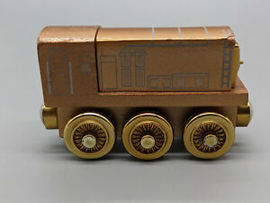 THOMAS THE TRAIN-Wooden Bronze Diesel-60 Year-Limited Edition Diesel-Free Ship.