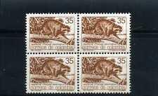 mapache  # bklt of 4 ,-  COLOMBIA >>FAUNA>>  1987  MNH