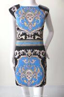 SHONA JOY Size 8 -10 or US 4 - 6 Sleeveless Shift Dress  Made in Australia