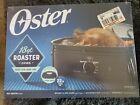 Oster 18qt Roaster Oven Slow Cooker Electric Turkey Roasting Pans Baking Black photo