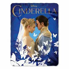 Cinderella Royal Couple 46x60 Soft Fleece Throw Blanket