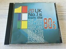 20 UK NO. 1'S FROM THE 80'S - CD ALBUM - #60 - THE JAM SOFT CELL MIDGE URE