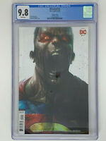 CGC 9.8 DCEASED #2 Mattina Superman Variant DC 2019
