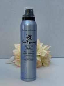 Bumble and Bumble Thickening Dryspun Finish Fullness Spray - 4oz  NWOB Fast/Free