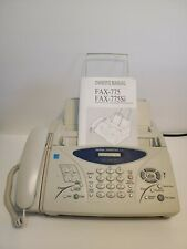 Brother Intellifax 775 Plain Paper Fax Phone Amp Copier With Manual Works