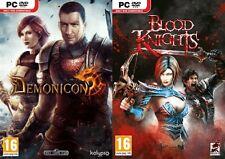 Demonicon & Blood Knights New & Sealed