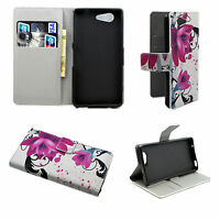 New Wallet Holster Leather Phone Cover Case Stand For Sony Xperia Mobile Phones