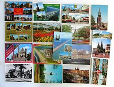 Postkarten Sammlung NIEDERLAND Holland 16 color Ansichtskarten ca. ab/nach 1960