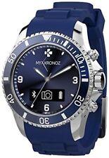 Mykronoz ZeClock Smartwatch Bluetooth 4.0 con movimento al Quarzo Blue