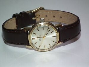 Superb Vintage 1968 Chunky Solid 9ct Gold OMEGA Automatic Wristwatch, Working
