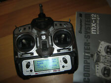 Graupner Sender MX 12 40 Mhz  mit Akku TOP
