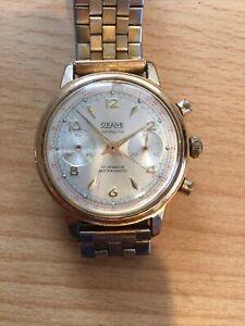 montre homme mecanique Chronographe Vintage Oxane