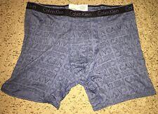 Calvin Klein CK One Cotton Boxer Brief XLarge XL Blue Underwear NWT
