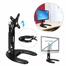 Adjustable Computer Monitor Desk Mount Stand Holder For 10''-24'' Desktop Screen