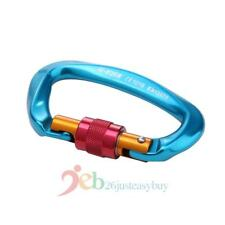 25KN Professional Safety D-Ring Buckle Master Locks Climbing Carabiner Equipment