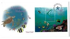 Norfolk Island 1998 Reef Fish 2 FDC's