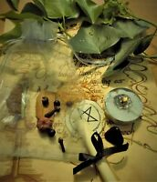 Curse Removal Spell Kit  Ritual Magic  Witchcraft Wicca Pagan Handmade Candle