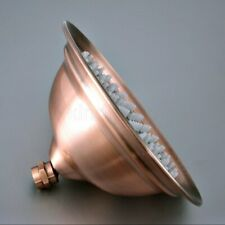 "Antique Copper 8"" Round Showerhead Rainfall Shower Head Rain Shower Faucet Head"