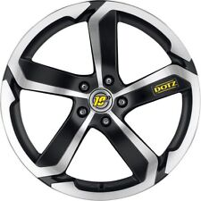 """Set of 4-New 18""""x8.5"""" (11-15) Lincoln MKX 5x114.3 Black/Polished Front Wheel Rim"""