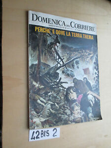 DOMENICA DEL CORRIERE. N. 5 del 1968 terremoto (42BIS2)