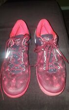 NIKE ZOOM KOBE 8 SYSTEM - CAMEO RED GAME USED JOHN LUCAS SHOES