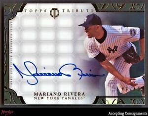 2015 Topps Tribute Framed Autographs Black Mariano Rivera AUTO 49/50 YANKEES
