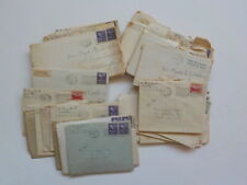 44 Old Letters 1940s Detroit Michigan Lot Washington D.C. Collection VTG Covers