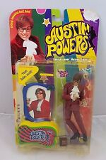 "1999 Austin Powers Ultra ""Cool"" Action Figure Toy Doll in Package Vintage"