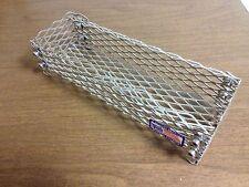 12x5x3 Stainless Steel Pellet Basket Firestarter- No Kindling Wood Fire Starter